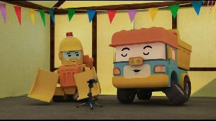 Робокар Поли и его друзья Сезон 1 Робокар Поли и его друзья. Сезон 1. Серия 38. Жизнь в нашем городке