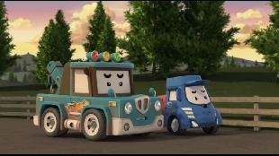 Робокар Поли и его друзья Сезон 1 Робокар Поли и его друзья. Сезон 1. Серия 44. Сердитый Мики