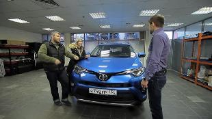 Рулевые игры Сезон-1 Toyota RAV4