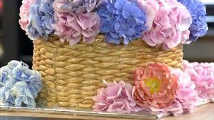 Сделай мне красиво 1 сезон 8 выпуск. Торт «Корзина цветов»