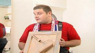 Школа ремонта Сезон 1 выпуск 44: Мы все больны футболом (Футбол на дом)