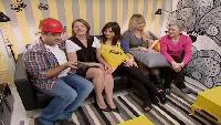 Школа ремонта Сезон 7 выпуск 1: Желтая гостиная с серыми полосками