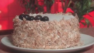 Сладкие истории 1 сезон Творожный торт с виноградом