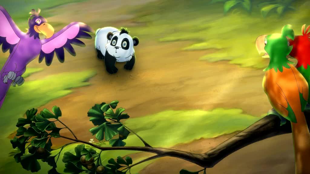 Смотреть Смелый большой панда