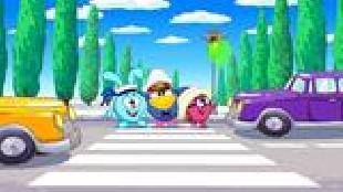Смешарики: Азбука безопасности Сезон-1 Нетерпеливые водители