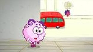 Смешарики: Азбука безопасности Сезон-1 Самая страшная машина