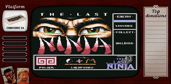 Смотреть Старые старые игры. Выпуск 1. The Last Ninja на commodore 64