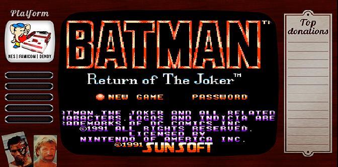 Смотреть Старые старые игры. Выпуск 10. Batman – Return of the Joker на NES, Famicom, Денди