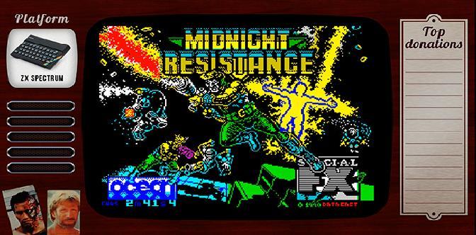 Смотреть Старые старые игры. Выпуск 19. Midnight Resistance на zx spectrum