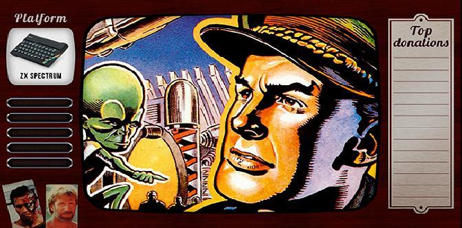 Смотреть Старые старые игры. Выпуск 20. Dan Dare: Pilot of the Future на zx spectrum