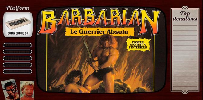 Смотреть Старые старые игры. Выпуск 3. Barbarian: The Ultimate Warrior на commodore 64