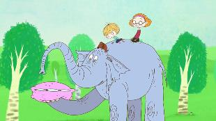 Так не бывает Сезон-1 Серия 2. Большое слонопутешествие или как живут слоны