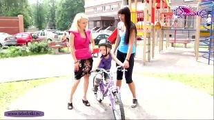 Теледетки Сезон-1 Учим кататься на велосипеде