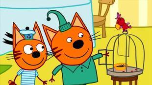 Три кота 1 сезон 14 серия. Говорящая птица
