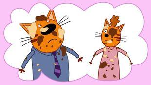Три кота 1 сезон 21 серия. День рождения мамы