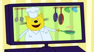 Три кота 1 сезон 23 серия. Кулинарное шоу