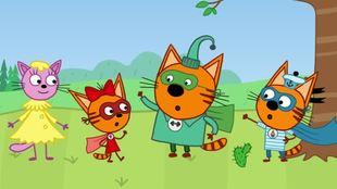 Три кота 1 сезон 38 серия. Супергерои