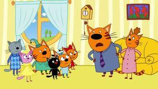 Три кота 1 сезон 41 серия. День черного кота
