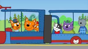 Три кота 1 сезон 44 серия. Железная дорога