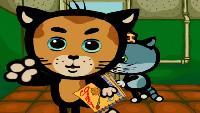 Три котёнка Сезон-2 Фрукты-овощи, друзья, есть немытыми нельзя