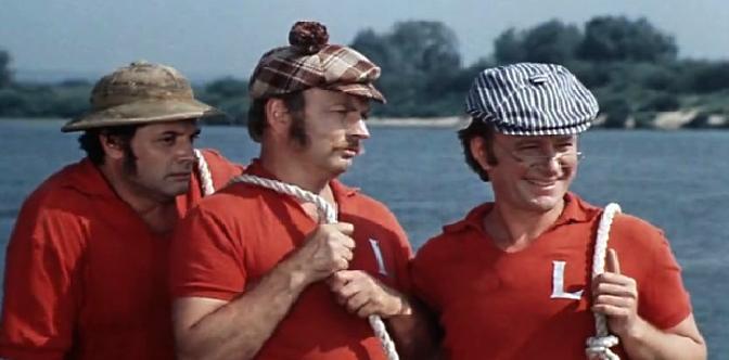 Смотреть Трое в лодке, не считая собаки