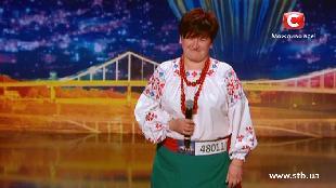 Україна має талант Україна має талант Художественный свист от Антонины - Кастинг в Харькове