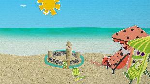 Уроки от Пинги и Кроки Сезон-1 Фигуры из песка