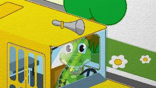 Уроки от Пинги и Кроки Сезон-1 В автобусе ехали