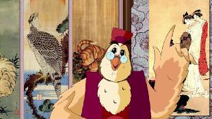 Уроки тетушки совы Всемирная картинная галерея Всемирная картинная галерея - Кацусига Хокусай