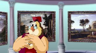Уроки тетушки совы Всемирная картинная галерея Всемирная картинная галерея - Клод Лоррен