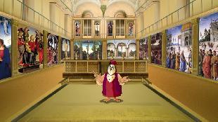 Уроки тетушки совы Всемирная картинная галерея Всемирная картинная галерея - Пьетро Перуджино