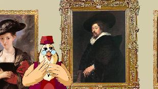 Уроки тетушки совы Всемирная картинная галерея Всемирная картинная галерея - Питер Пауль Рубенс