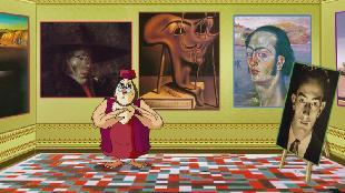 Уроки тетушки совы Всемирная картинная галерея Всемирная картинная галерея - Сальвадор Дали