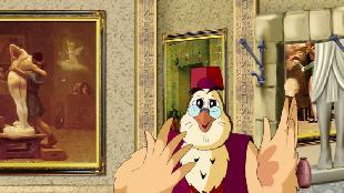 Уроки тетушки совы Всемирная картинная галерея Всемирная картинная галерея - Жан Лион Жером