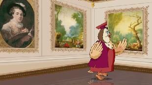 Уроки тетушки совы Всемирная картинная галерея Всемирная картинная галерея - Жан Оноре Фрагонар