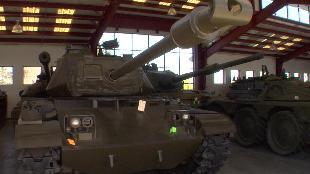 В командирской рубке. Обзоры реальных танков. Сезон-1 Загляни в реальный M41 Walker Bulldog. В командирской рубке