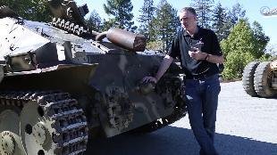 В командирской рубке. Обзоры реальных танков. Сезон-1 Загляни в реальный танк Хетцер. Часть 1.