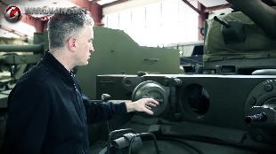 В командирской рубке. Обзоры реальных танков. Сезон-1 Загляни в реальный танк Комет. Часть 1.