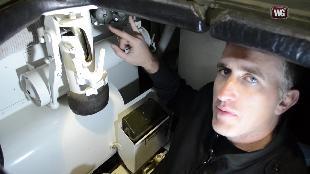 В командирской рубке. Обзоры реальных танков. Сезон-1 Загляни в реальный танк М103. Часть 3 .
