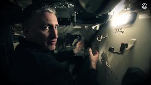 В командирской рубке. Обзоры реальных танков. Сезон-1 Загляни в реальный танк M24 Чаффи. Часть 3.