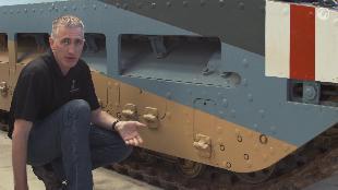 В командирской рубке. Обзоры реальных танков. Сезон-1 Загляни в реальный танк Матильда. Часть 1.