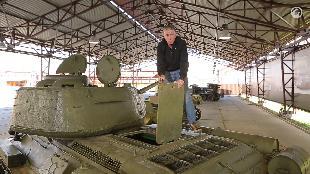 В командирской рубке. Обзоры реальных танков. Сезон-1 Загляни в реальный танк Т-34-85. Часть 1. В командирской рубке