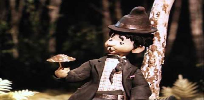 Смотреть Веселые охотники Карандаш и Клякса. Советский кукольный мультфильм.