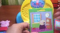 Видео обзоры игрушек - Игра Свинка Пеппа с картриджами