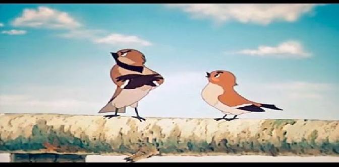 Смотреть Высокая горка. Советский мультфильм. Сказка В.Бианки.