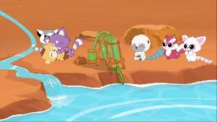 Юху и его друзья Сезон-1 Пустынный рай. Часть 2