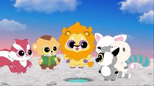 Юху и его друзья Сезон-1 Синегривый лев