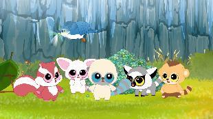 Юху и его друзья Сезон-1 Зелёное семечко в озере