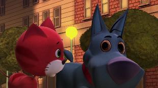 Зверята Сезон-5 Большой вождь черный кролик